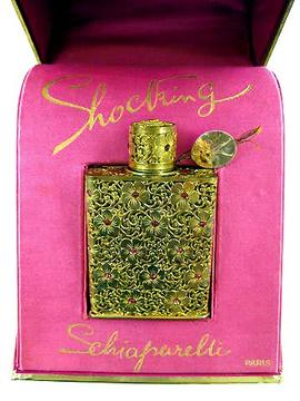 Shocking de Schiaparelli jeweled perfume bottle
